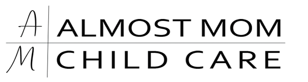 Almost Mom Logo Black and White